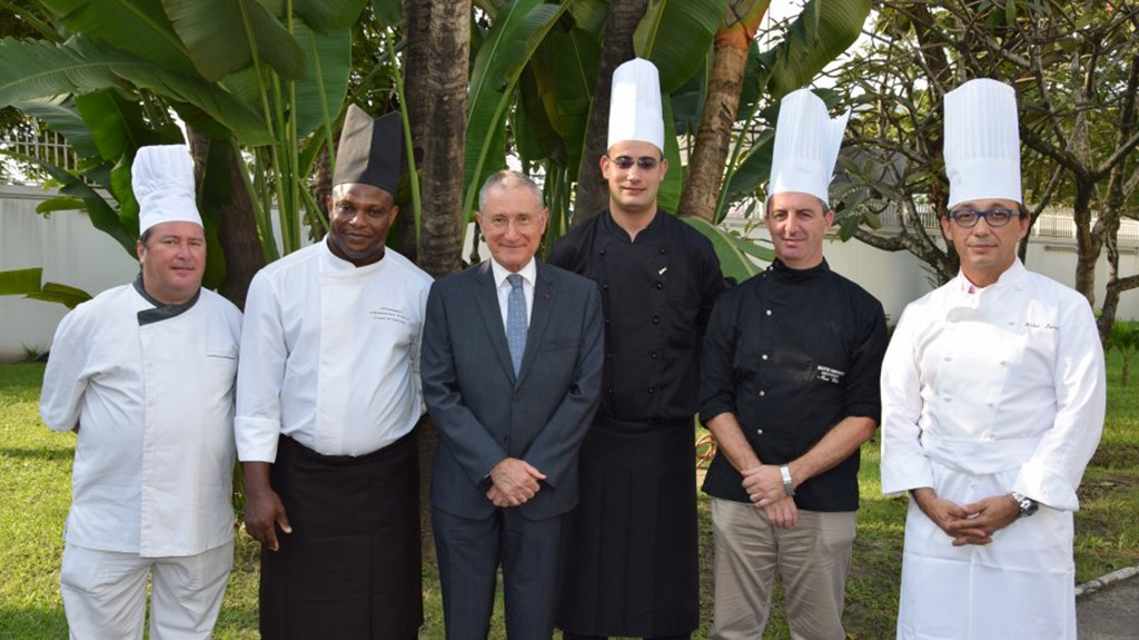 Gastronomy – Pefaco Hotel Maya Maya 5* in the Congolese press for the dinner Good France